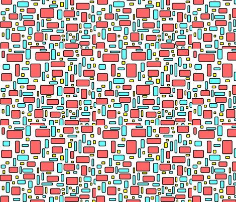 Color me Happy - small fabric by brandi_ on Spoonflower - custom fabric