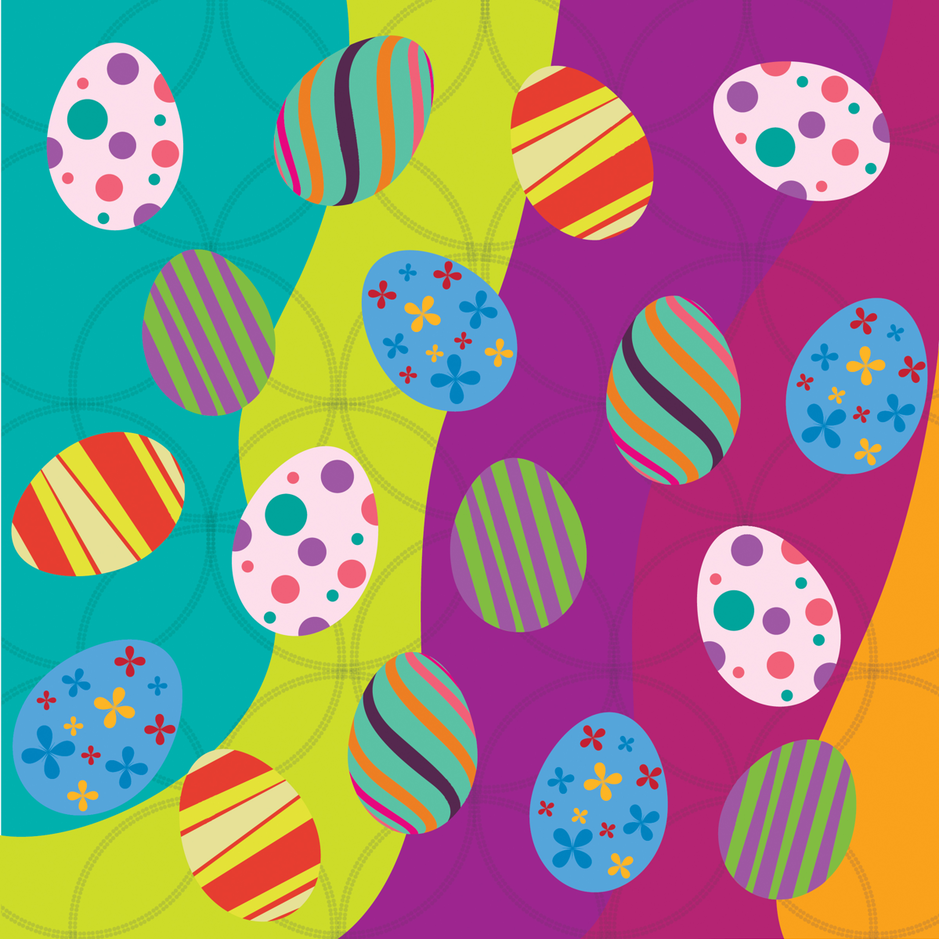 color_eggs fabric by bavuchaz on Spoonflower - custom fabric