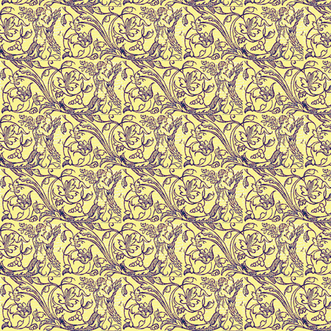 Vine Harvest fabric by amyvail on Spoonflower - custom fabric