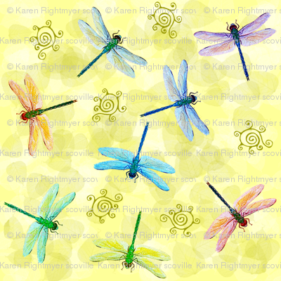 dragonflies very small