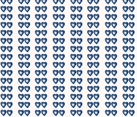 Time Lord Love - Blue Beats fabric by lapittrice13 on Spoonflower - custom fabric
