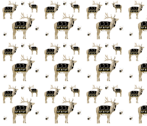My New French Coat repeat fabric by karenharveycox on Spoonflower - custom fabric