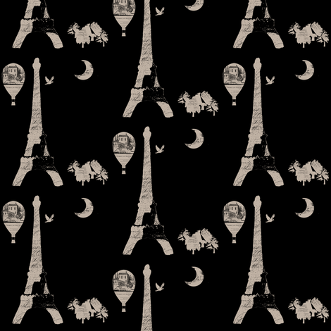 French Inspiration fabric by karenharveycox on Spoonflower - custom fabric