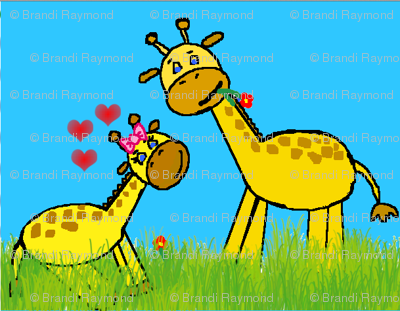 Baby Giraffe Love - Small