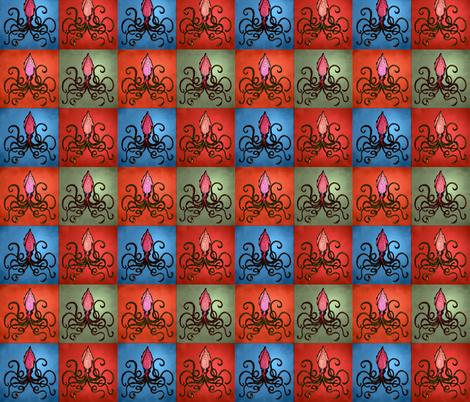 Squid Monroe fabric by trubludesign on Spoonflower - custom fabric