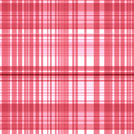 Coral plaid fabric by paragonstudios on Spoonflower - custom fabric