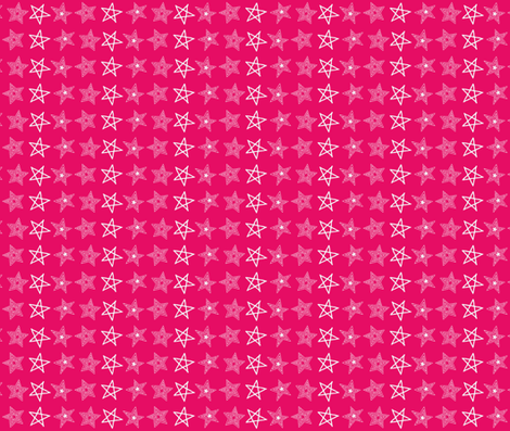A Star Danced For Eloise fabric by lapittrice13 on Spoonflower - custom fabric