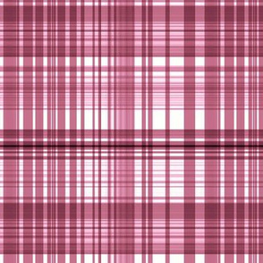 Wild Cherry plaid