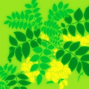 Leaves9-green/yellow