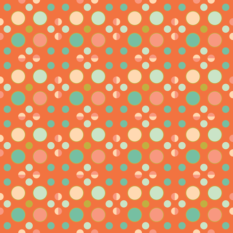 Dots fabric by arttreedesigns on Spoonflower - custom fabric