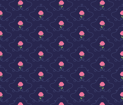 CLOVER_HEART fabric by pfeiffer on Spoonflower - custom fabric