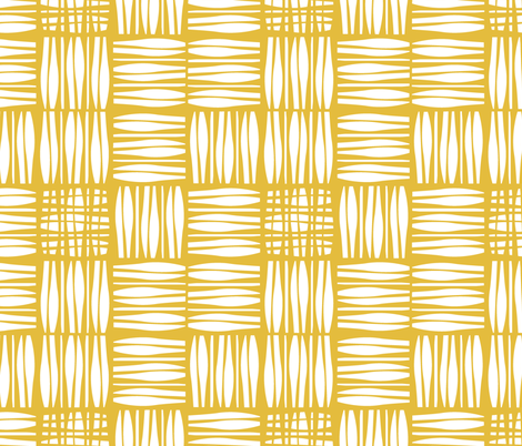 RETRO_YELLOW fabric by pfeiffer on Spoonflower - custom fabric