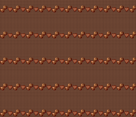 chocolate lovers fabric by krs_expressions on Spoonflower - custom fabric