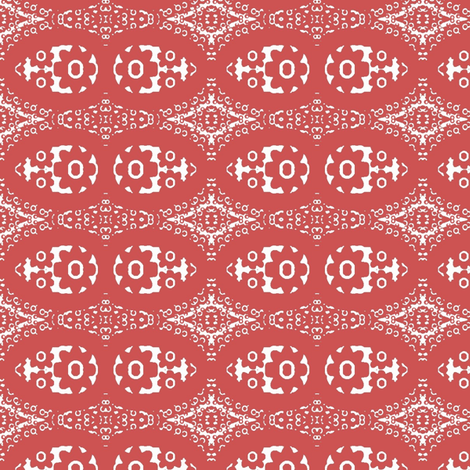Dusty rose flower bandana 2 fabric by dk_designs on Spoonflower - custom fabric