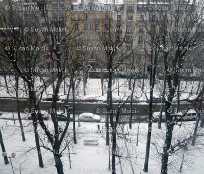 Last Snow of the Season, Paris 2013, variation 1