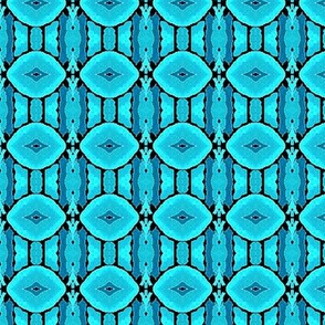 seafoam blue petals