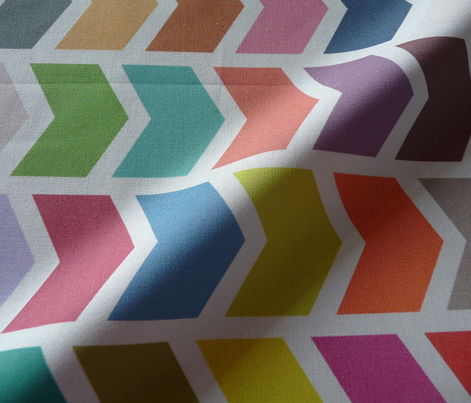 Multi Coloured Chevron