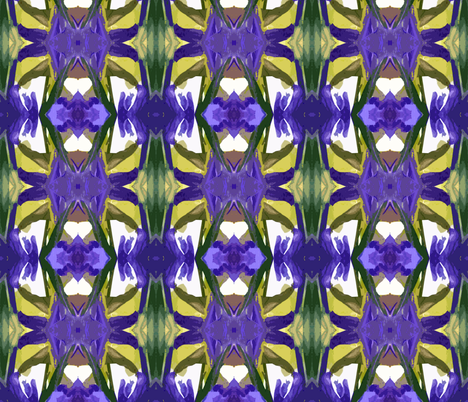 Composition in Purple and Yellow