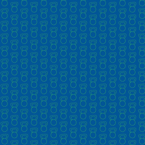CrossFit - Kettlebells - Green on Blue