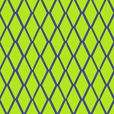Lime Diamonds fabric by ravynscache on Spoonflower - custom fabric