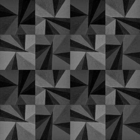 Grey Triangles fabric by doiknowyou on Spoonflower - custom fabric