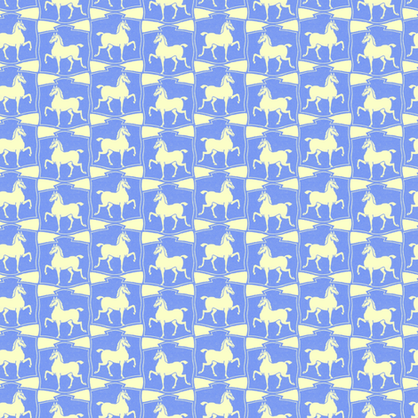 Puzzled Ponies fabric by ragan on Spoonflower - custom fabric
