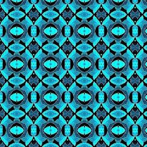 seafoam teal circles