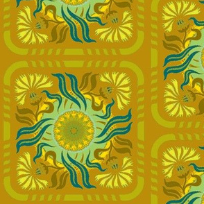 Art Nouveau17-gold/green