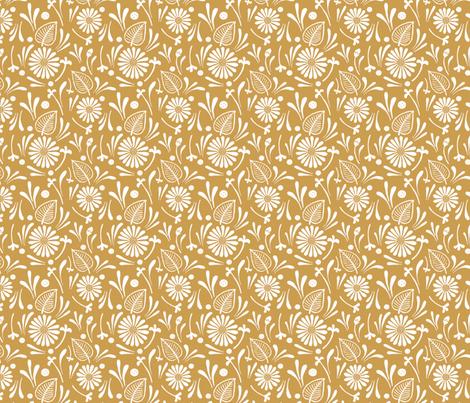 flora fabric by katherinecodega on Spoonflower - custom fabric