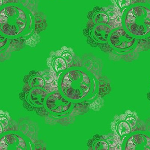 Green Antique Lace
