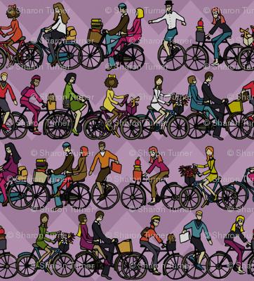 chevron bikes lilac