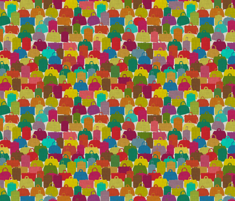 rainbow cases fabric by scrummy on Spoonflower - custom fabric