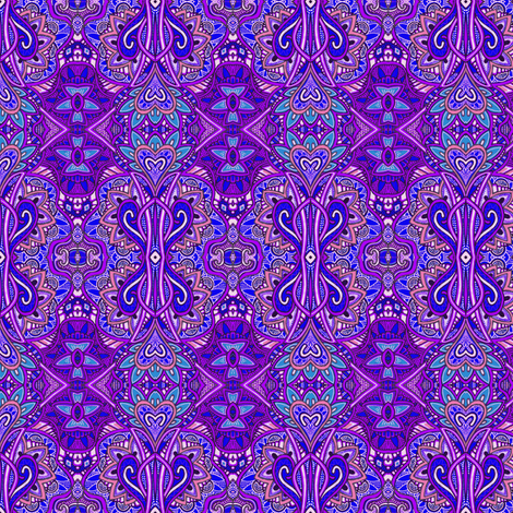 If Eggplant Ruled the World fabric by edsel2084 on Spoonflower - custom fabric