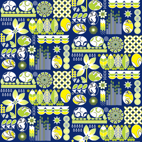 Egg Hunt fabric by angeladesaenz on Spoonflower - custom fabric