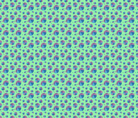 Dotty Triangles fabric by doiknowyou on Spoonflower - custom fabric