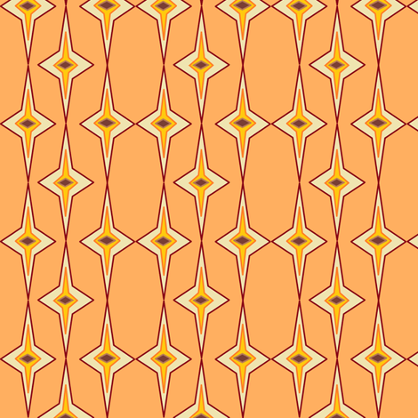 Dreamsicle fabric by ravynscache on Spoonflower - custom fabric