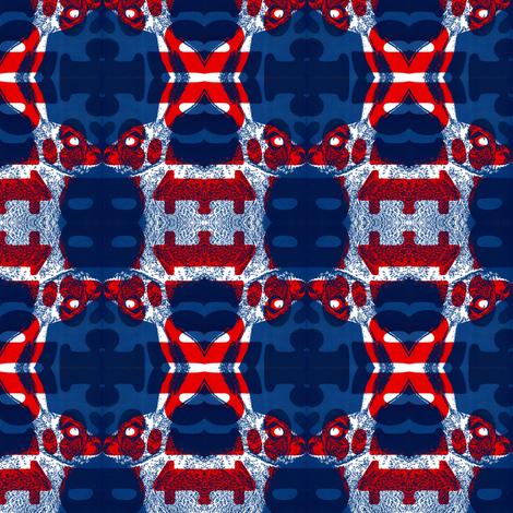 rabbits fabric by fabiennegood on Spoonflower - custom fabric