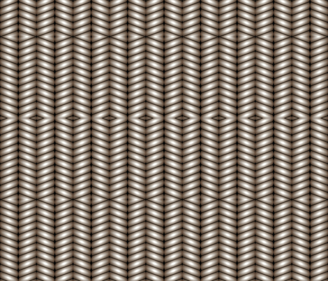 Silver Stripes fabric by whimzwhirled on Spoonflower - custom fabric
