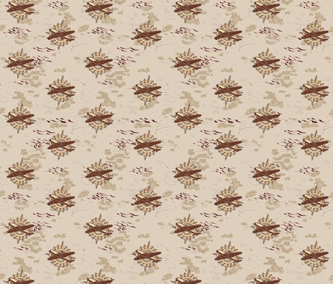 Indy's Compass Rose fabric by creativefiasco on Spoonflower - custom fabric