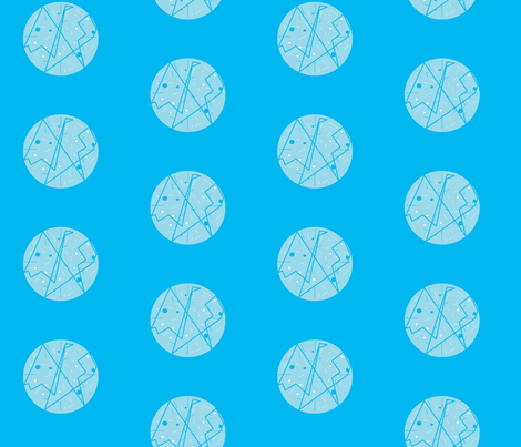 blue_on_blue half-drop fabric by vos_designs on Spoonflower - custom fabric