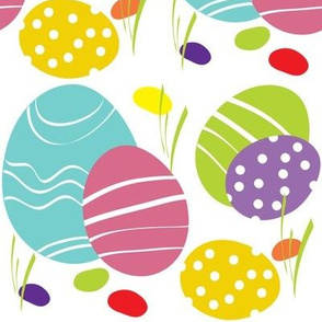 Spring Painted Eggs