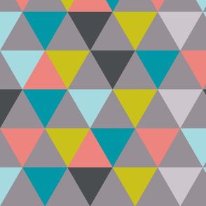 triangles - diamonds