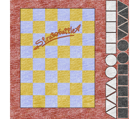 Stratobattle board fabric by weavingmajor on Spoonflower - custom fabric