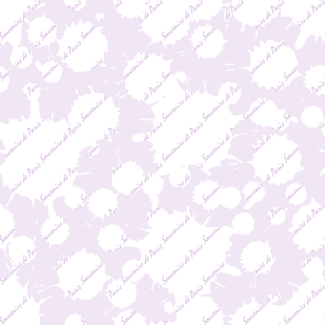 Coordinate Souvenirs de Paris (Lavender) fabric by vannina on Spoonflower - custom fabric