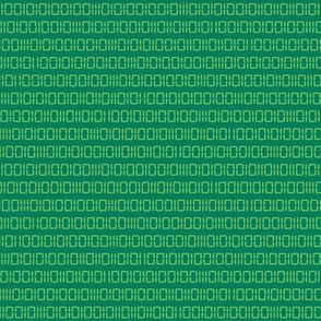 Robot Binary (Green)