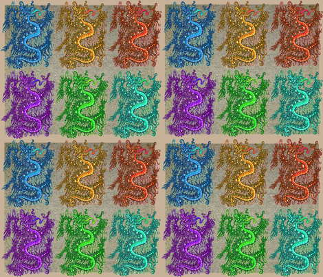 dragon fabric by angelprint on Spoonflower - custom fabric