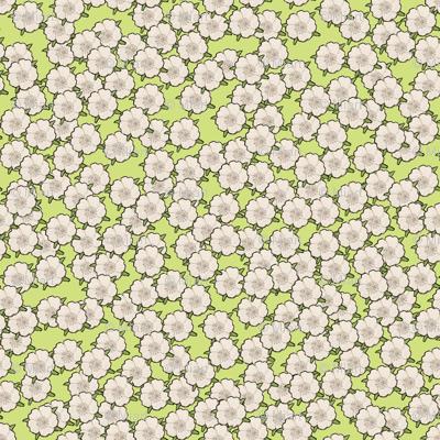 Ditsy Green for Art Nouveau Eggs