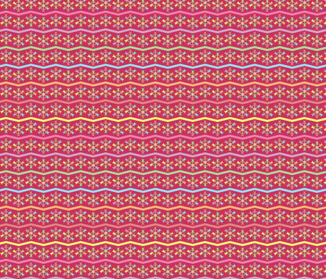 pink_tulips fabric by ronnyjohnson on Spoonflower - custom fabric