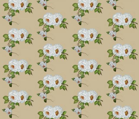 Mudd roses fabric by paragonstudios on Spoonflower - custom fabric