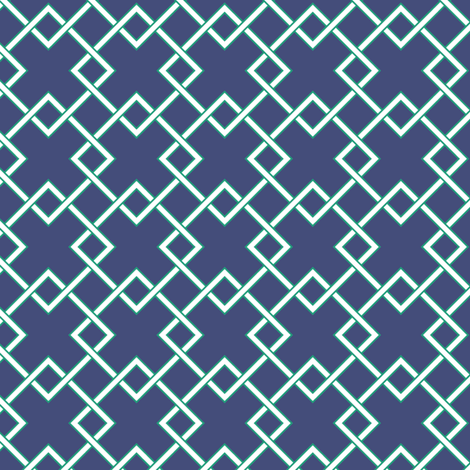 lattice  fabric by jillbyers on Spoonflower - custom fabric